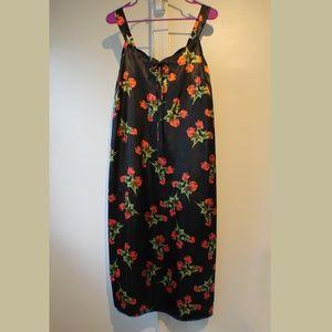 Cacique Sleepwear/Chemise Floral print Sz. 14/16
